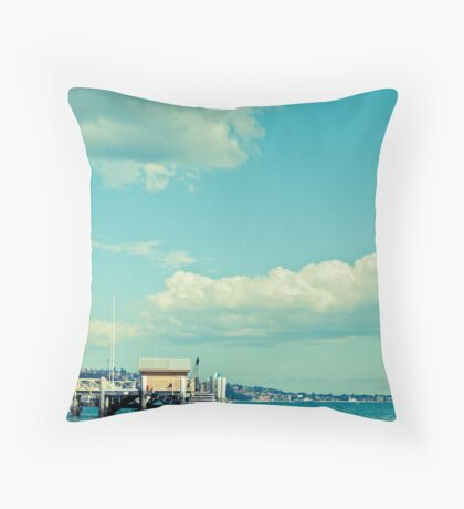 Chowder Bay Throw Pillow