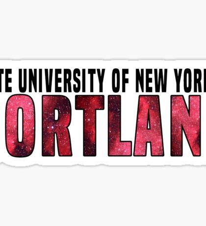 SUNY Cortland Galaxy Sticker