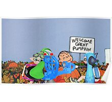 No Way! Charlie Brown and the Great Pumpkin! Poster