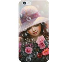 soap bubble girl - rose Sharon of song iPhone Case/Skin