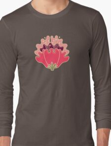 flat flowers Long Sleeve T-Shirt