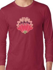 flat flowers Long Sleeve T-Shirt
