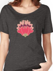 flat flowers Women's Relaxed Fit T-Shirt
