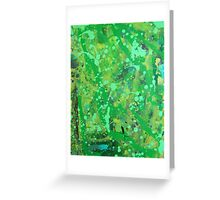 Abstract on wood 1 Greeting Card