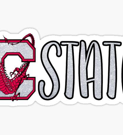 SUNY Cortland C State Sticker
