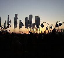 Glastonbury sunset by Wintermute69