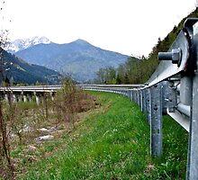 Bridge in the Alps by Wintermute69