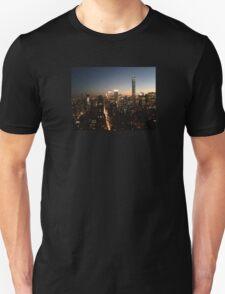 NYC at Night Unisex T-Shirt