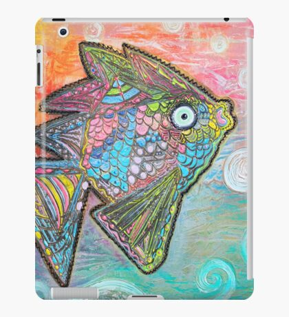 Psychedelic Fish iPad Case/Skin