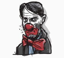 Hans, sad clown by Magnifax