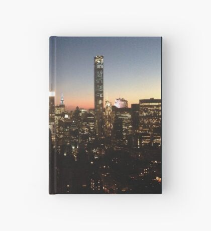 NYC at Night Hardcover Journal