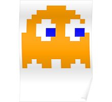 Pac-man Yellow Ghost Poster