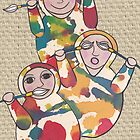 Hear no evil,see no evil, speak no evil by Kelly Gatchell Hartley