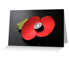 Poppy Appeal Greeting Card