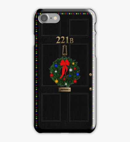 221 Before Christmas iPhone Case/Skin