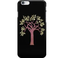 Tree 1 (black) iPhone case iPhone Case/Skin