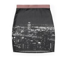 "NYC ""All the Little Lights"" Mini Skirt"
