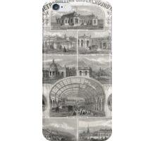 Metropolitan Underground Stations 1862 iPhone Case/Skin
