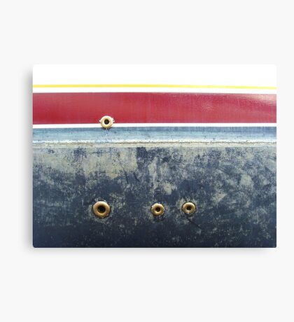 R is for rivets Canvas Print