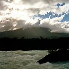 Volcano in the mist - Southern Chile by joegardner