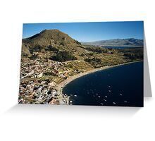 bolivia, copacabana Greeting Card