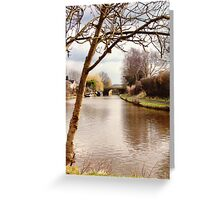 Leeds and Liverpool Canal Greeting Card