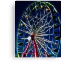 State Ferris Wheel Canvas Print