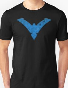 Nightwing Damaged (Blue) Unisex T-Shirt