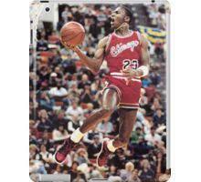 michael jordan chicago bulls iPad Case/Skin