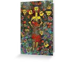 Dia De Los Muertos 2 Greeting Card