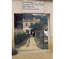 "Lavanderia ""El Jardin"" Photographic Print"