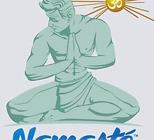 Namaste Detroit Full Color by NamasteDetBrand