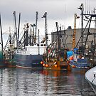 Fishing boats of New Bedford series by Poete100