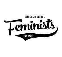 Varsity Feminism Photographic Print