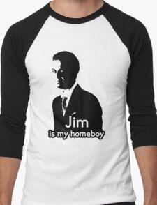 Jim is My Homeboy Men's Baseball ¾ T-Shirt