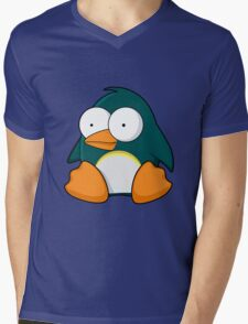 Pengo Mens V-Neck T-Shirt