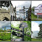 Postcards from Stornoway - A Hebridean Collage by BlueMoonRose
