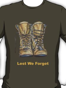 Lest We Forget T-Shirt T-Shirt