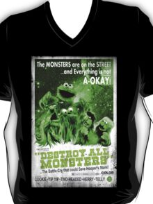 DESTROY ALL MONSTERS! (Sesame Street) T-Shirt