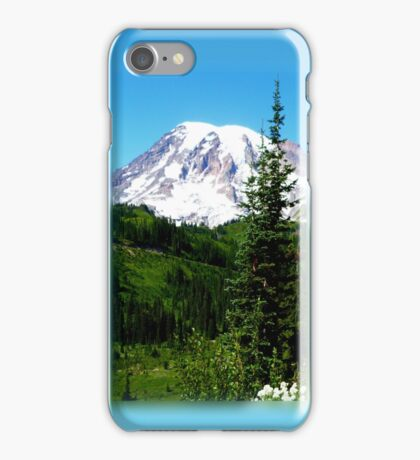 Mount Rainier iPhone Case iPhone Case/Skin