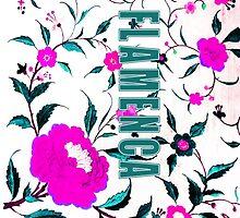 Flamenca Manton 2 by PulgaPrints