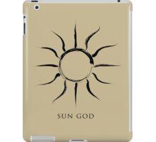 Sun God - Black Edition iPad Case/Skin