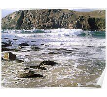 Rocky Shore - Hebridean Seascape Poster