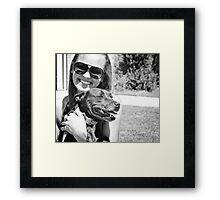Gundy Dog Expo Framed Print