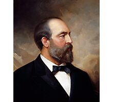President James Garfield Photographic Print