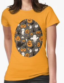 Halloween Party Womens Fitted T-Shirt