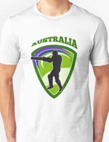 cricket player batsman batting Australia T-Shirt