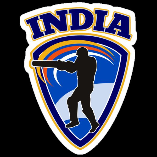 cricket player batsman batting India by patrimonio