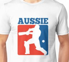 cricket player batsman batting Australia Unisex T-Shirt