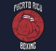 Puerto Rico Boxing Baby Tee
